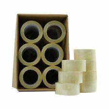 36 72 Rolls Clear Packing Packaging Carton Sealing Tape 2 X 110 Yards Box