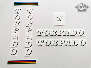 TORPADO Cicli black letters decal sticker bicycle silk screen FREE SHIPPING