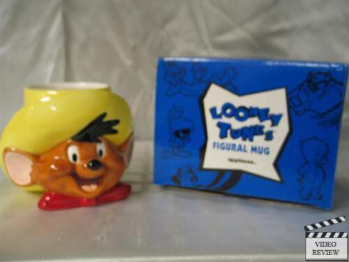 Speedy Gonzales ceramic figural mug Looney Tunes; Applause NEW