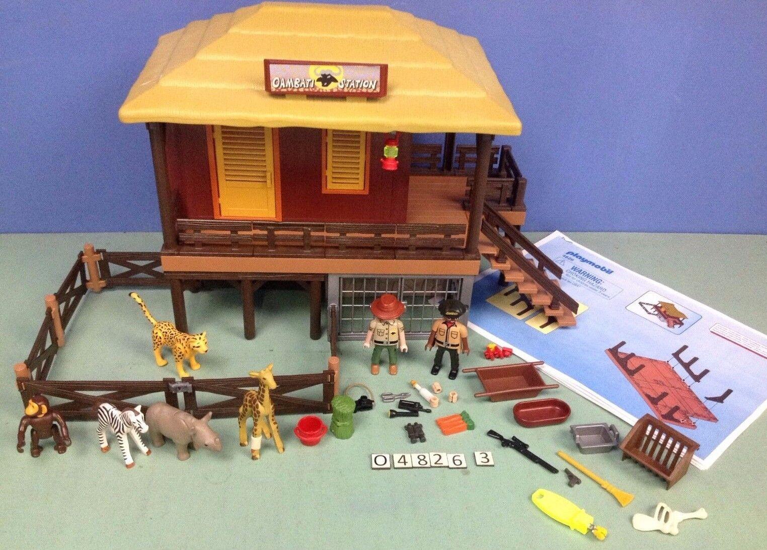 (O4826.3) playmobil Maison safari ref 4826