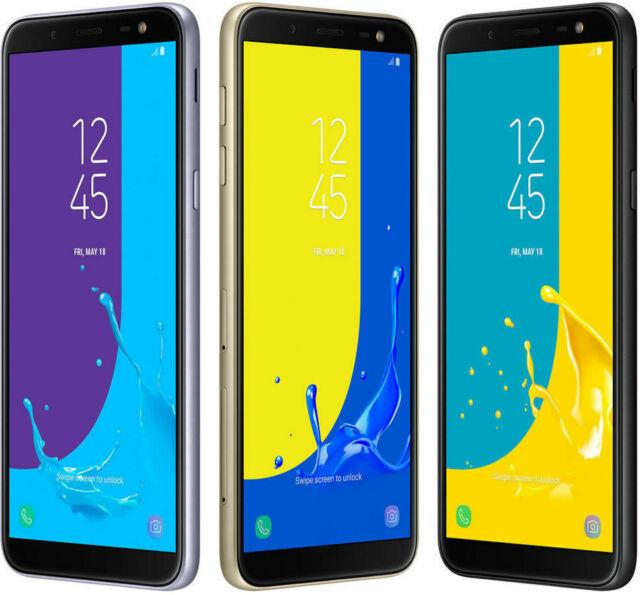 New Samsung Galaxy J6 Dual Sim SM-J600G/DS Unlocked 64GB Samrtphone 4G LTE