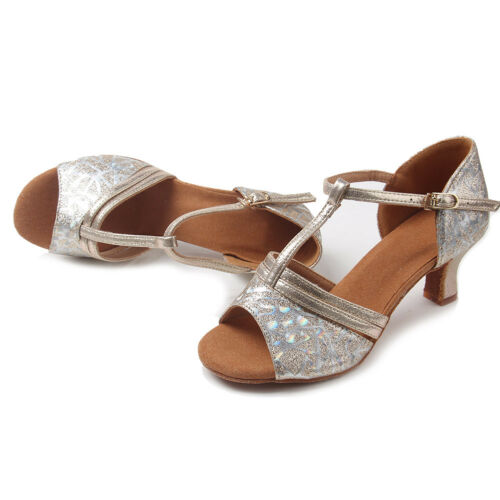 Tango Colore Latin Salsa New Ballroom 4 Shoes Donna Heel wxUPfT