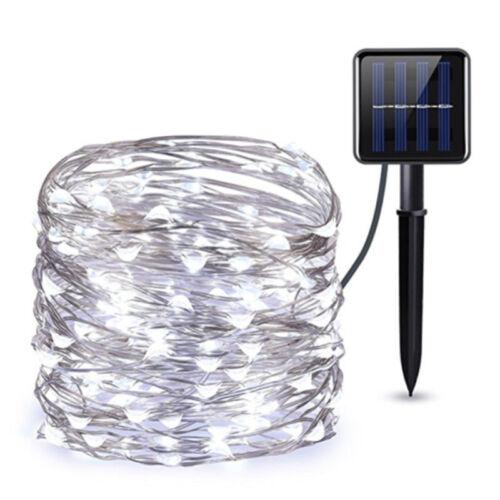 200 LED Solar Power Fairy Lights String Lamps Party Wedding Decor Garden Outdoor