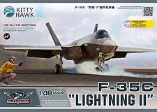 Kitty Hawk 80132 1/48 Lockheed Martin F-35C Lightning II