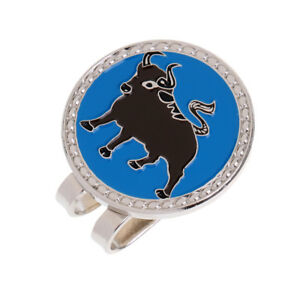 Details about Alloy Creative Chinese Zodiac Ox Golf Hat Clip Magnetic with  Ball Marker