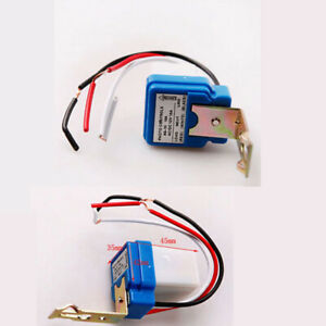 Details About Automatic Photocell Light Sensor Detector Switch Dusk To Dawn As Ac 10 Dc 12v