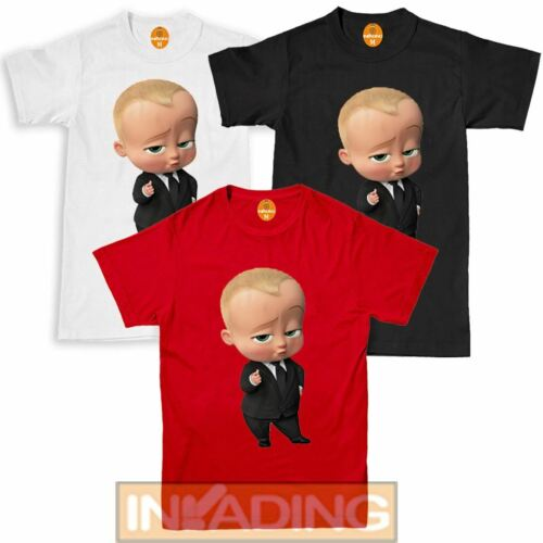 The BOSS BABY Movie I am the boss novelty kids//Girls//boys T-shirt top clothing