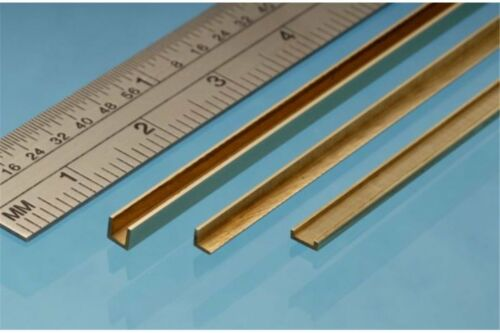 ALBION ALLOYS A6 Laiton Brass Angle 6 x 6 mm 1p