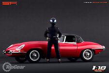 1/18 Black Stig Top Gear VERY RARE!!! figures for1:18 CMC Exoto Autoart Ferrari