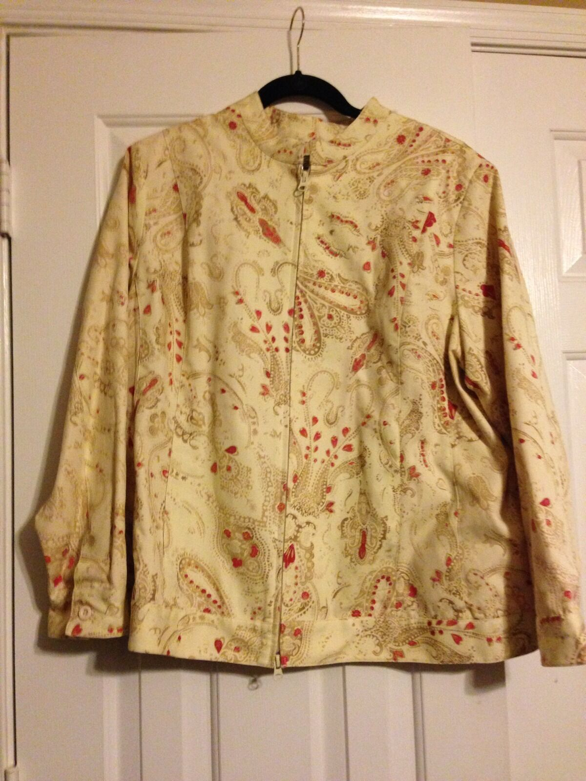 Avenue Lined Cotton Jacket 20W
