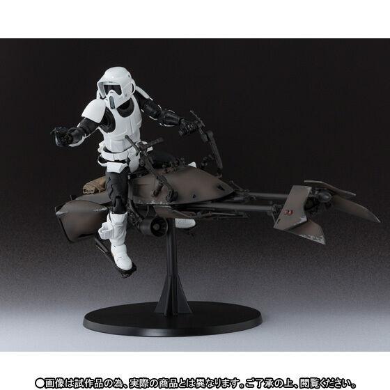 Bandai S.H.Figuarts Star Wars Scout Trooper & Speeder Bike Japan version