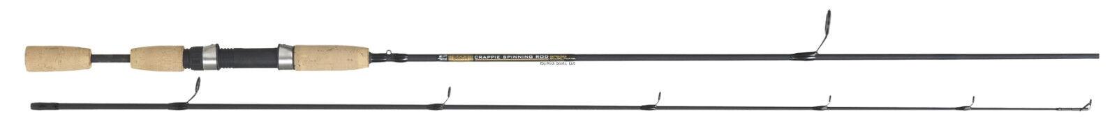 nuovo B&M Buck's Graphite Crappie asta, 6'2pc, medium azione SP60Gn
