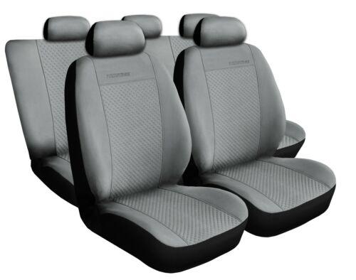 VW Polo Universal Grau Sitzbezüge Sitzbezug Auto Schonbezüge Schonbezug