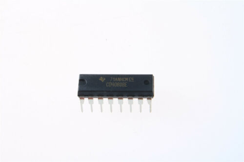 200pcs CD4060 CD4060BE 4000 CMOS 14-Stage Binary Ripple Counter With Oscillator