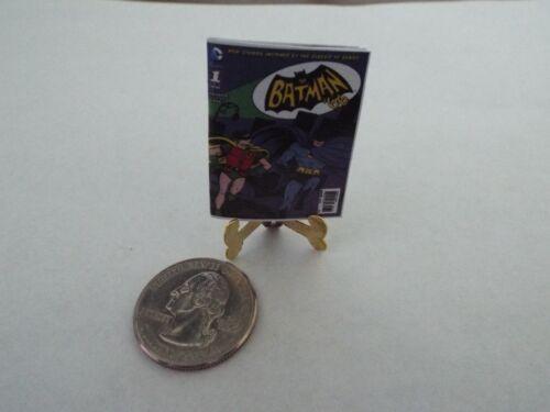 Miniature  /'BAT MAN/'  Comic  Barbie GI Joe 1:6 scale OPENING printed PAGES