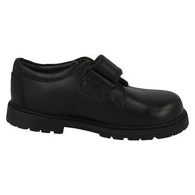 Niños Negro Cuero Startrite Escuela/Formal Zapatos se