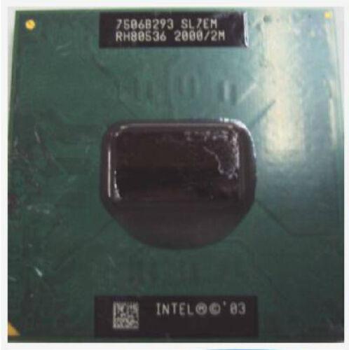 Intel Pentium M 755 PM755 2.0Ghz 2MB 400 SL7EM RH80536GC0412M CPU