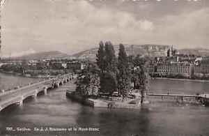 Switzerland - Geneva - Island J.J.Rousseau (E5640)