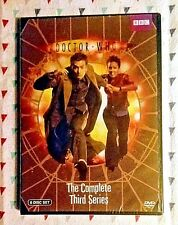 NEW! DOCTOR WHO: THE COMPLETE THIRD SERIES *SEASON 3*. 6-DISC SET. SHIPS FREE
