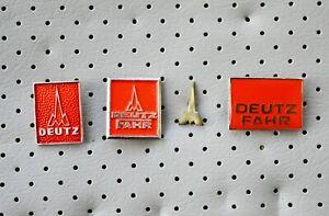 DEUTZ-FAHR-tractor-trattore-traktor-agricole-machine-4-old-pins