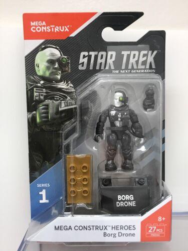 Neu Mega Construx FND66 Star Trek Serie 1 Borg Drone Heroes