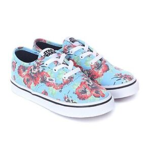 f916aa6095 VANS Disney Star Wars Yoda Aloha Authentic Sneakers Size 1.5 M Kid s ...