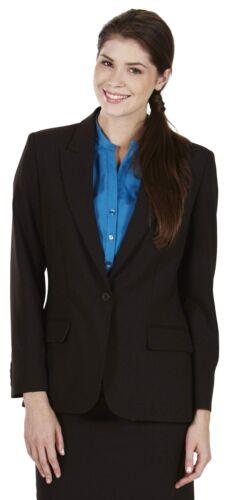 Simon jersey femmes laine mélanger costume un bouton veste chocolat