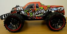 GRANDE Monster Truck Buggy RICARICABILE TELECOMANDO AUTO Fast Speed 34CM 2.4GHZ