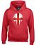 ENGLAND FLAG SKULL HOODY HOODIE ENGLISH TRAINING TOP CROSSFIT WORKOUT GYM WEAR