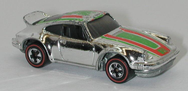 Redline Hotwheels Chrome 1975 Porsche P-911 P-911 P-911 oc13117 759aee