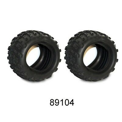 """6'X3""""X4"""" OFF ROAD TIRES WITH FOAM INSERTS MONSTER 89104"""