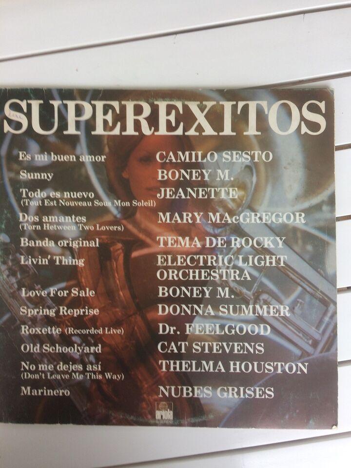 LP, Diverse Kunstner, Superexitos