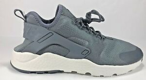 8b06f9e6691e Nike Air Huarache Run Ultra Gray White Athletic Running Shoes 819151 ...