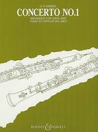 Haendel Concerto Nº 1 Bb Hautbois-afficher Le Titre D'origine Performance Fiable