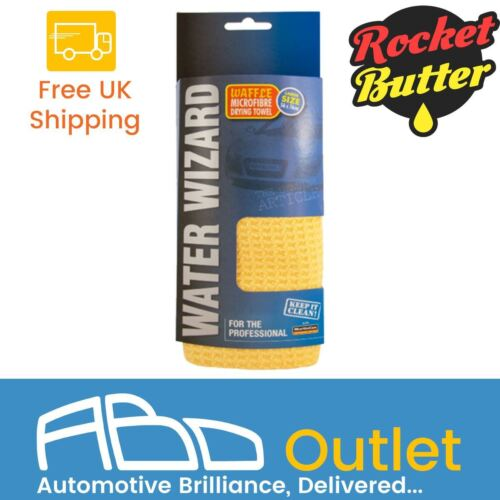 Rocket Butter Quench Car Drying Towel, Extremely Absorbent