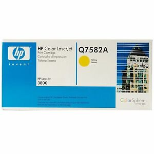 HP-Color-LaserJet-Laser-Jet-Q7582A-Genuine-Yellow-3800-Toner-Cartridge