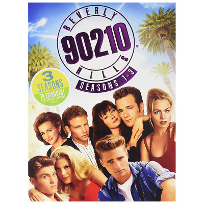 Beverly Hills 90210 - Seasons 1, 2, 3 (DVD) ? NEW ? Luke Perry, Tori Spelling