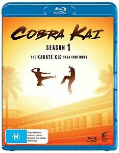 COBRA-KAI-Season-1-Region-Free-Blu-ray-The-Complete-First-Series-One