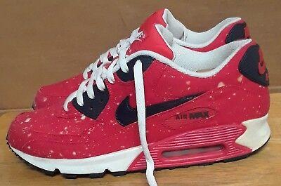 2012 Nike Air Max 90 Red White Rare 325018 410 Sz 13 Ebay