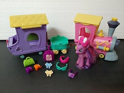 CoöPeratieve My Little Pony Mon Petit Poney Mein Kleines Pony G4 Twilight Sparkle's Train Set