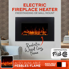 90cm Wall Mounted Electric Fireplace