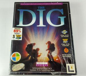 LucasArts-The-Dig-1995-PC-CD-Rom-Big-Box-SEALED-NOS-Vintage-VGA-Deutsch-NEU