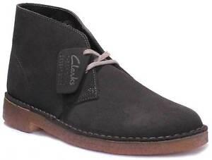 535ef5b37a1e Clarks Original Beeswax Mens Black Leather Matt Desert Boots UK Size ...