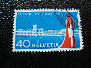Switzerland-Stamp-Yvert-and-Tellier-N-536-Obl-A19-Tooth-Short