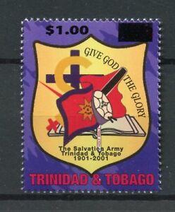 Trinidad-amp-Tobago-2017-neuf-sans-charniere-armee-du-salut-centenaire-Ovpt-1-V-SET-STAMPS