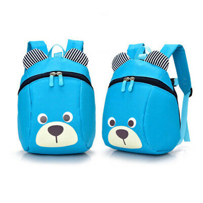 Cute Kid Baby Safety School Backpack Leash Child Toddler Anti-lost Dinosaur Bag