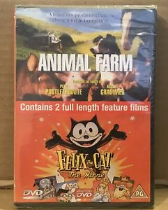 Animal-Farm-Felix-The-Cat-Movie-BRAND-NEW-FACTORY-SEALED-DVD-George-Orwell