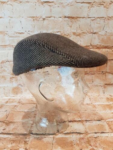 SARACINESCA BERRETTO BERRETTO PIATTO VISIERA CAPPELLO Uomo Inverno Cappuccio Cappello capanna Caps 54-62