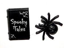 LEGO SPOOKY BOY MINIFIGURE Tools Accessories Tales Book/Black Spider 71013