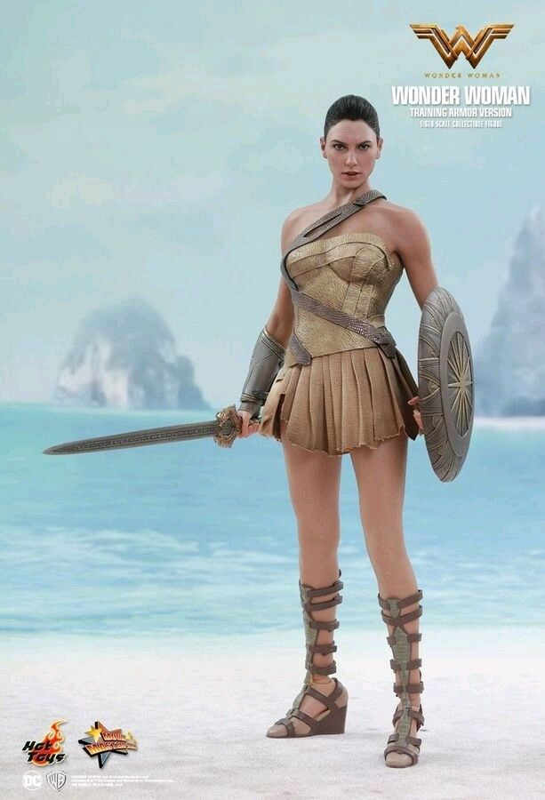 Hot Toys--Wonder Woman Movie - - - Wonder Woman Training Armor 12